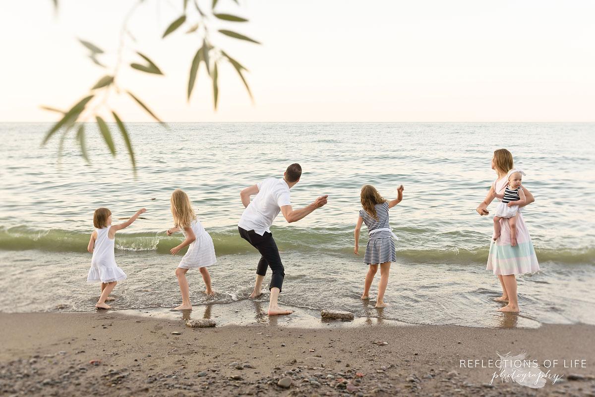 010 family photos on the beach niagara ontario canada