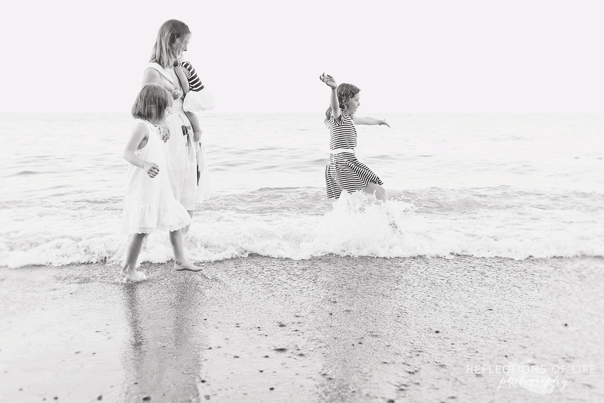 015 Family on the beach Grimsby Ontario