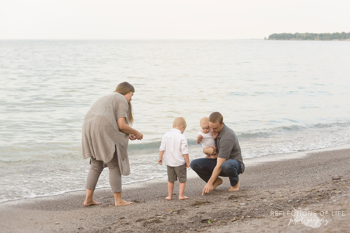 007 Candid family photography at the beach in Ontario Canada