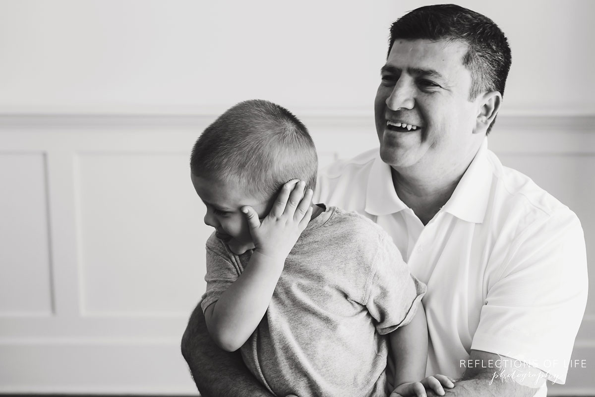Candid family photography by Karen Byker