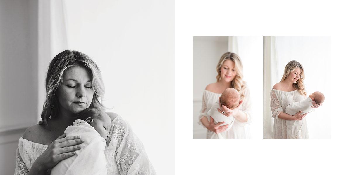 Niagara Newborn Photography Album Design Ontario Canada