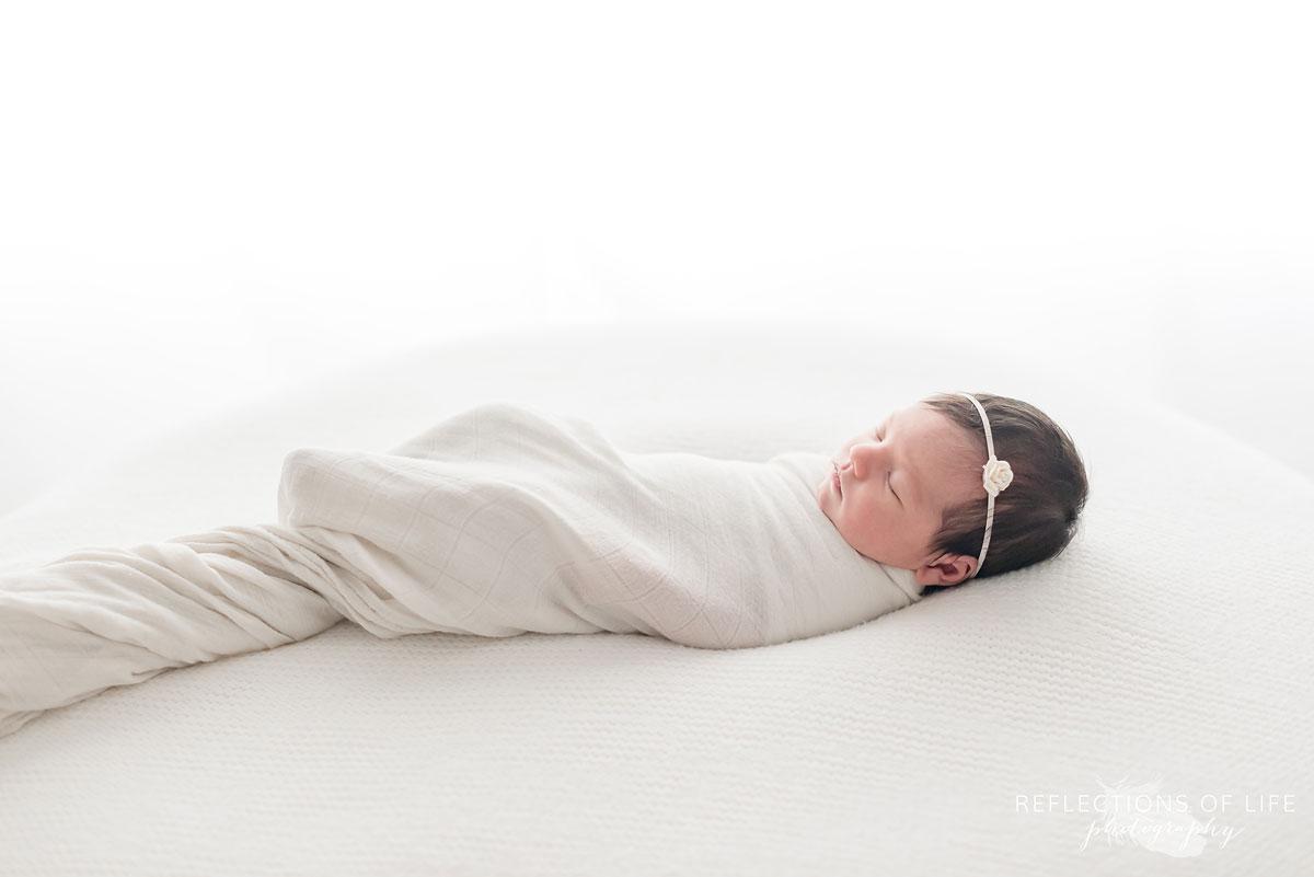 Niagara newborn baby photography beautiful simple sweet