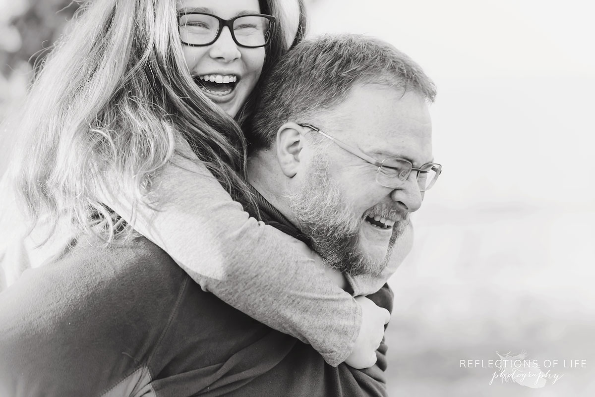 fun family photography daddy daughter