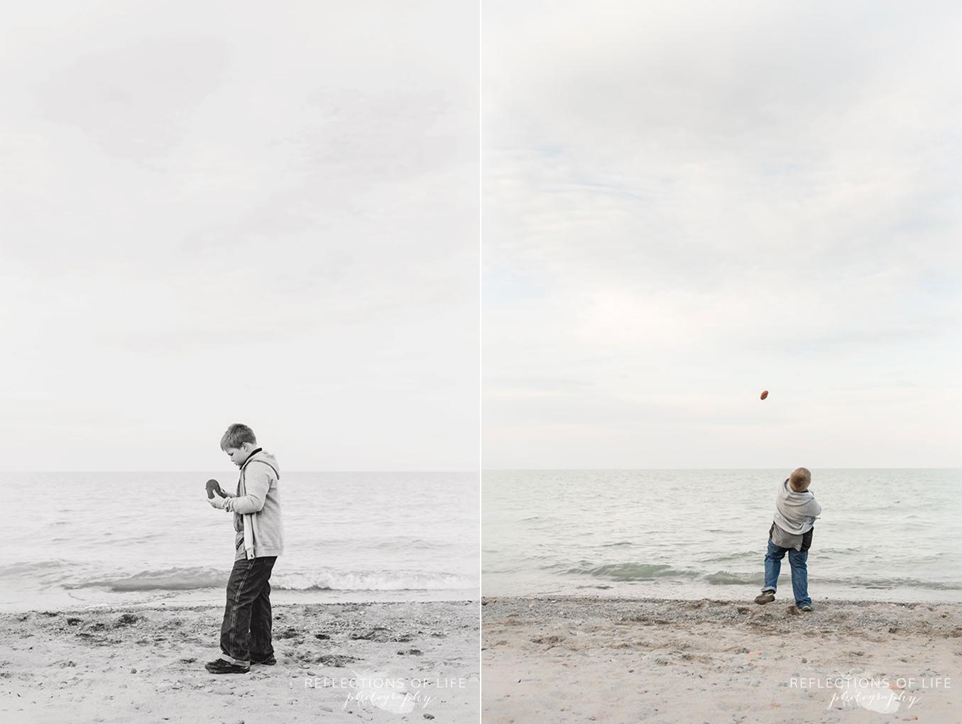 Grimsby beach family photos