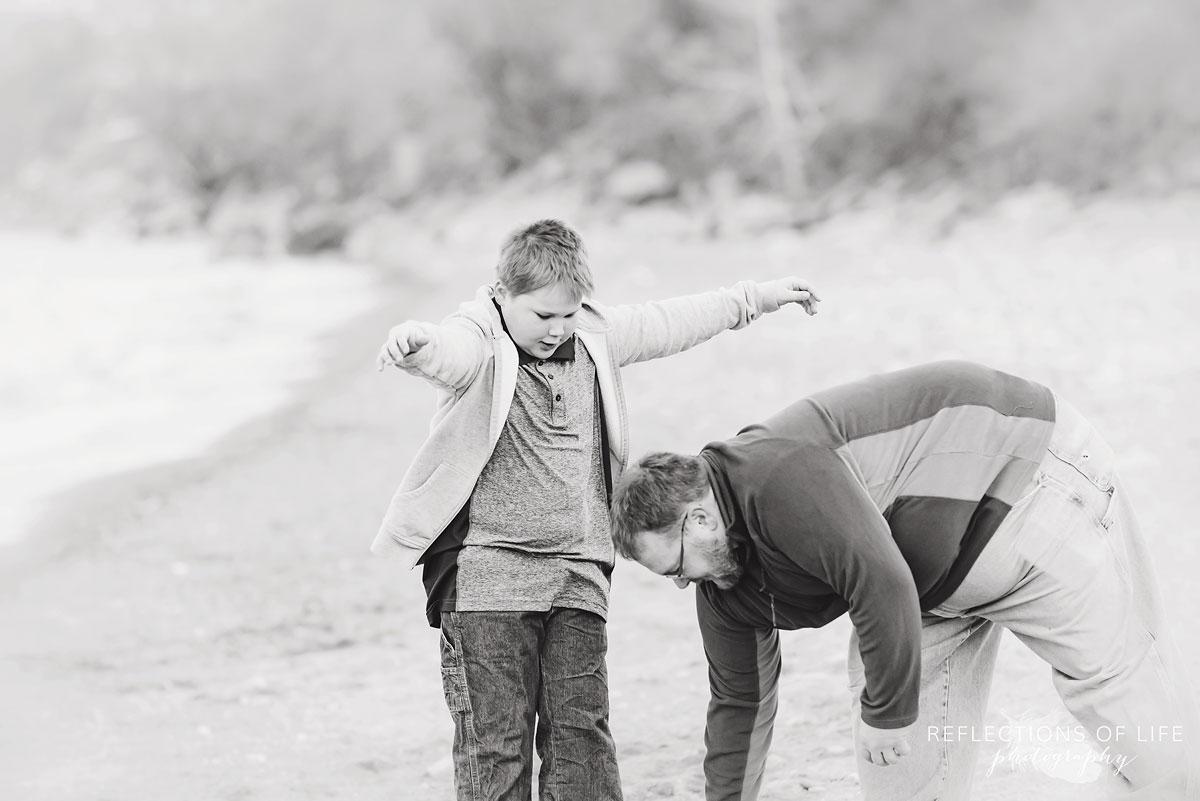 beachside family photography niagara ontario