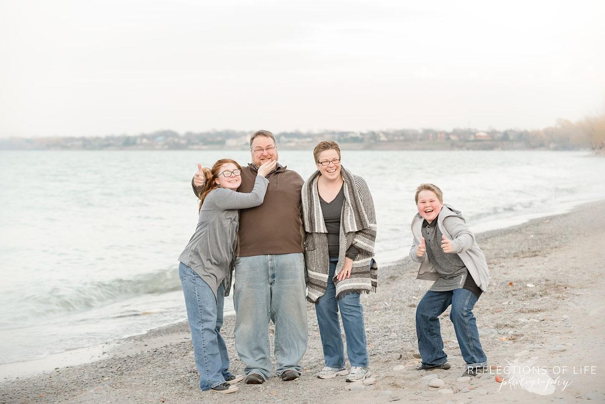 Fun family photos Grimsby