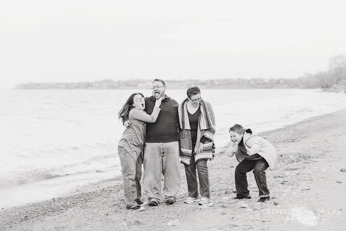 Fun family photography Niagara