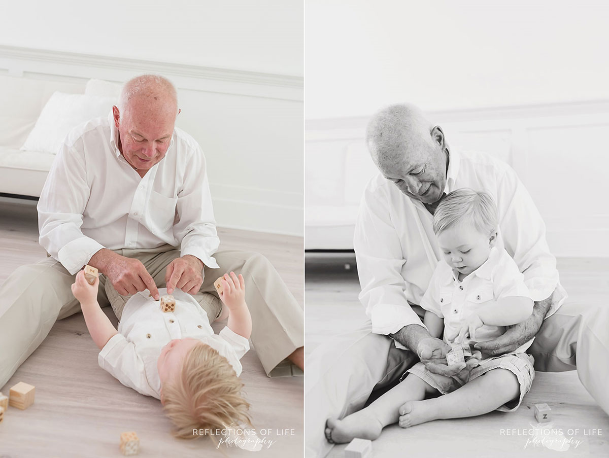 Niagara portraits grandpa and grandson