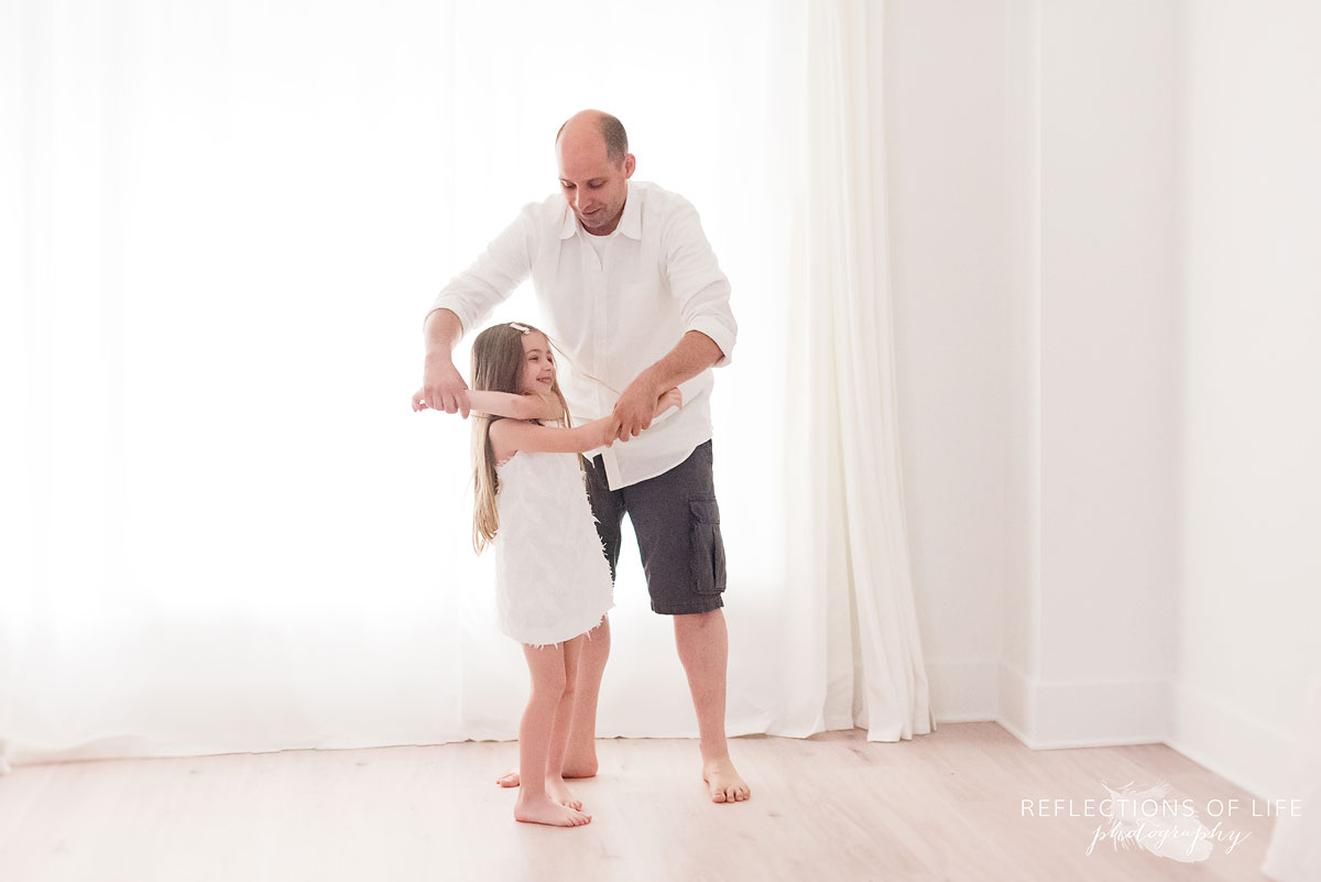 niagara family photography father and daughter