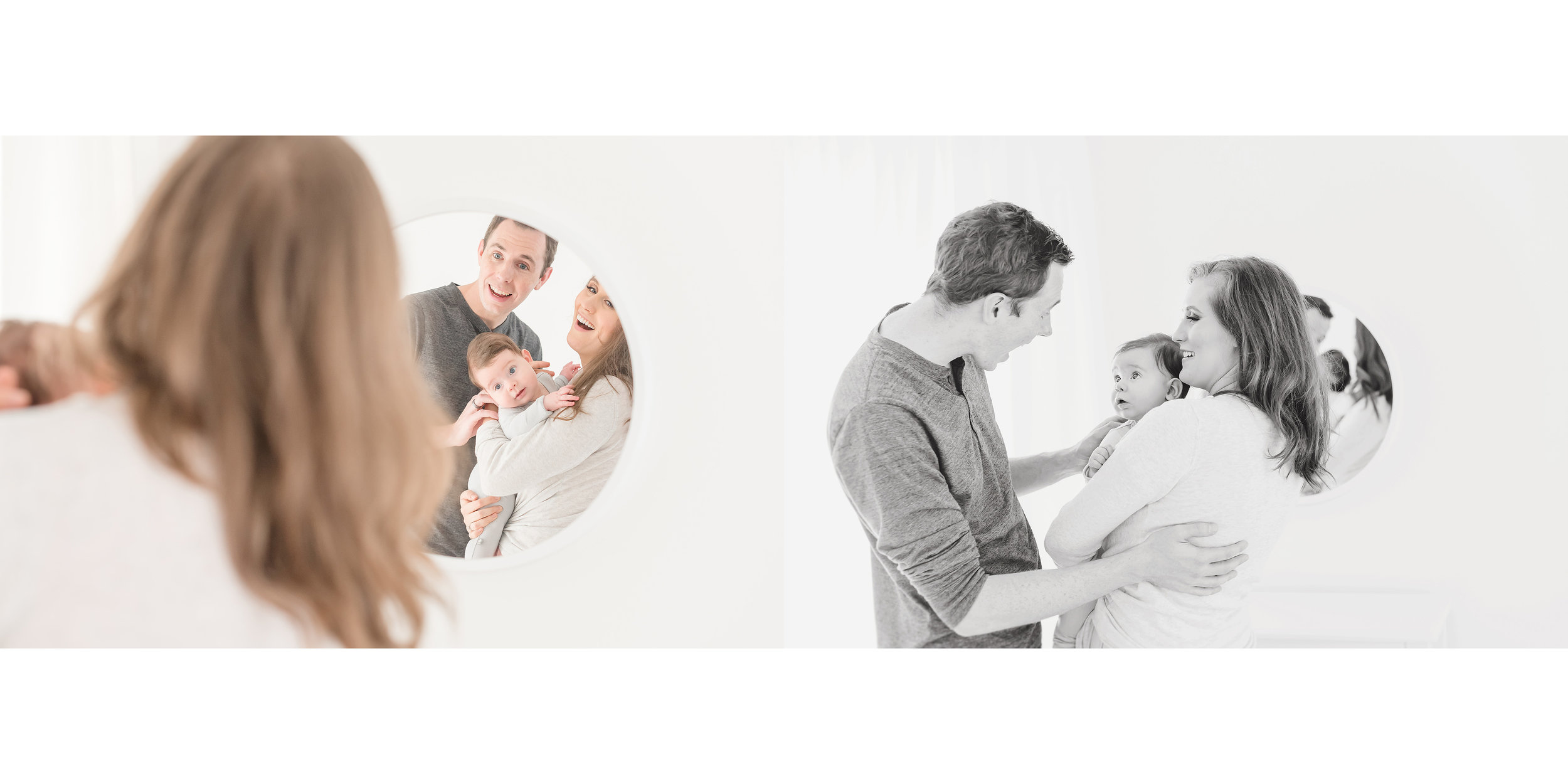 mirror family photos
