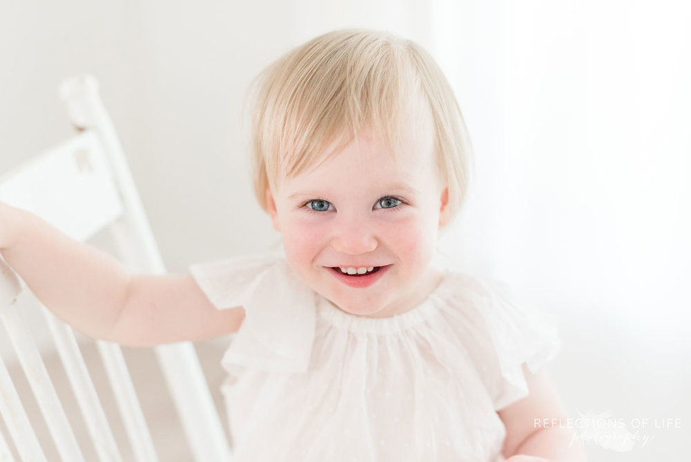 Leslie Mullaly, Niagara Baby Photography Client