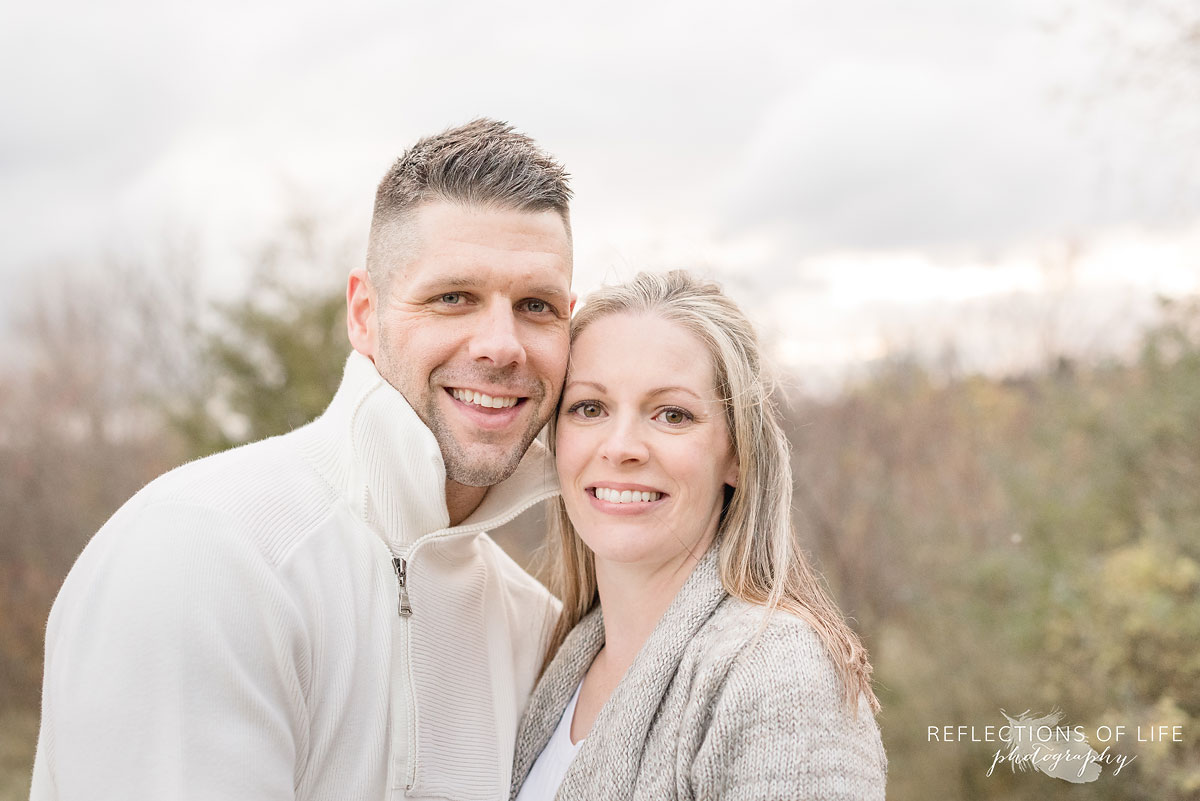 husband and wife portrait niagara region