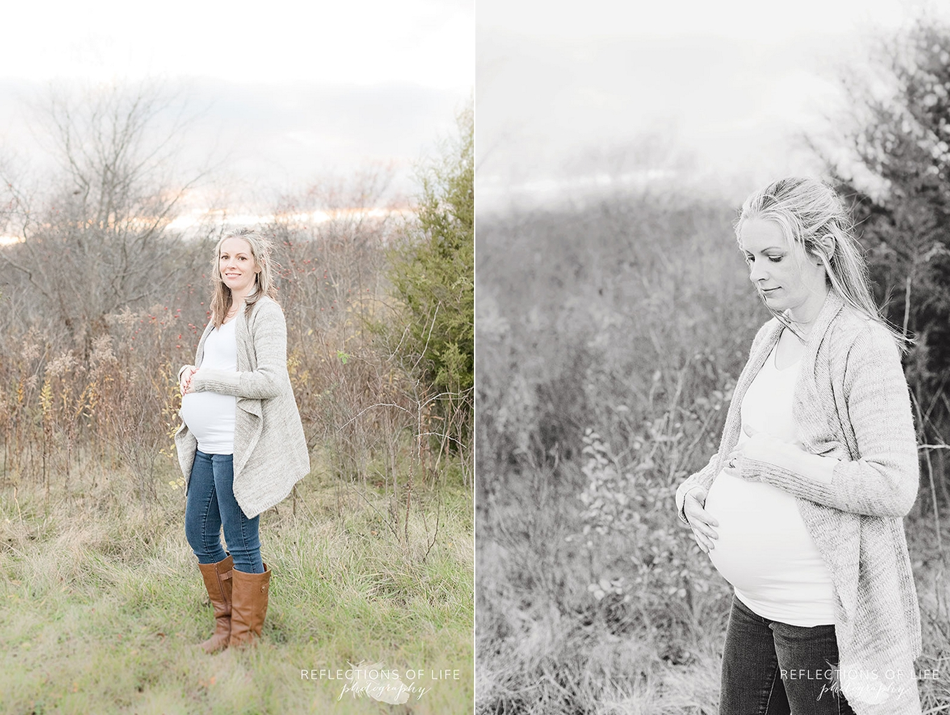pregnant mother photoshoot in grimsby ontario