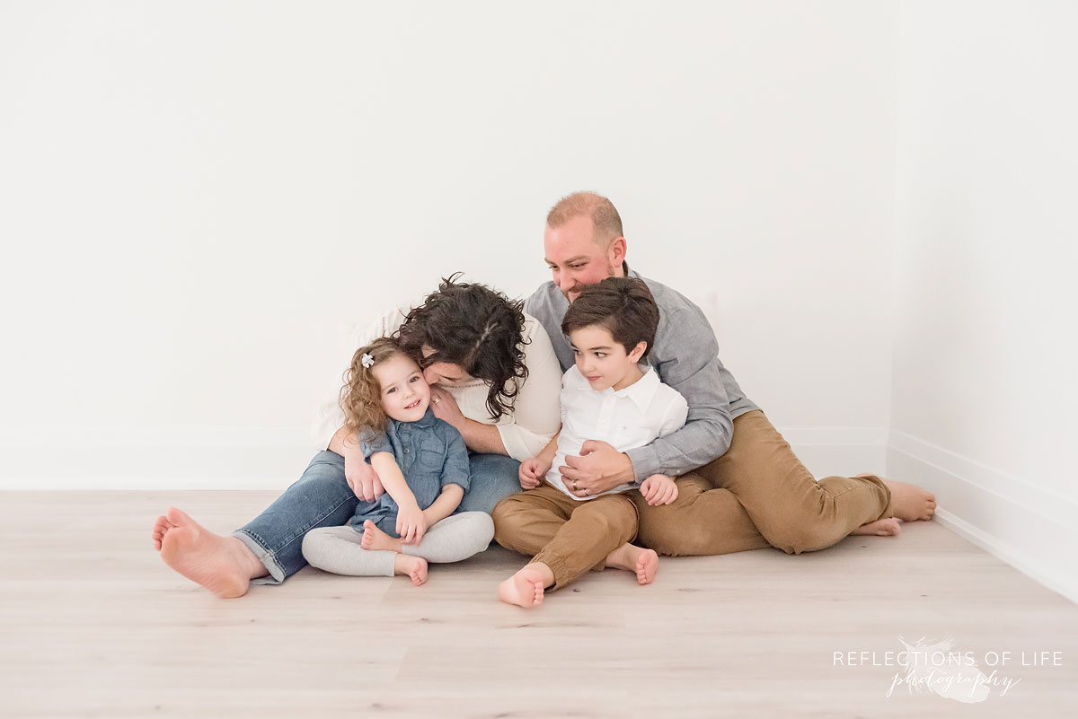 family in nigara region studio