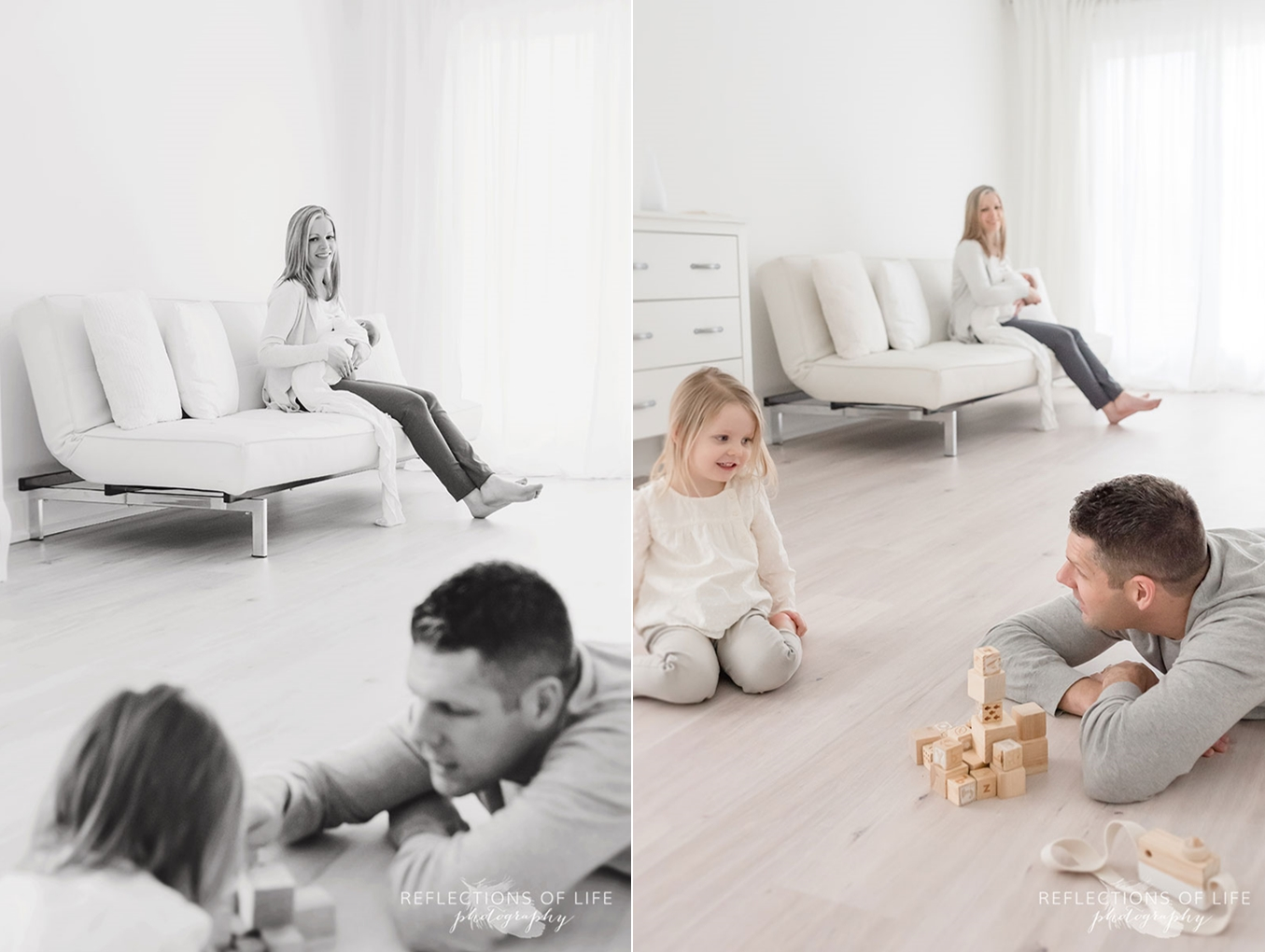 family playing in white studio.jpg