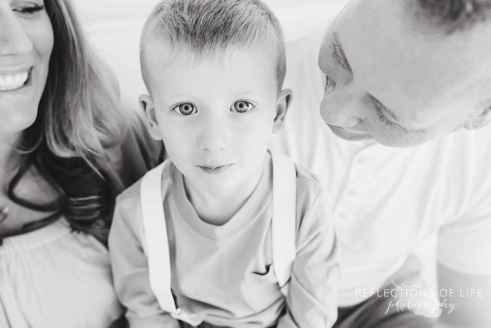 Little boy looks into the camera Grimsby Child Photography