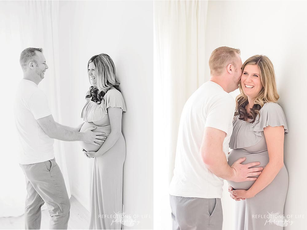 Niagara Maternity photography of couples in love