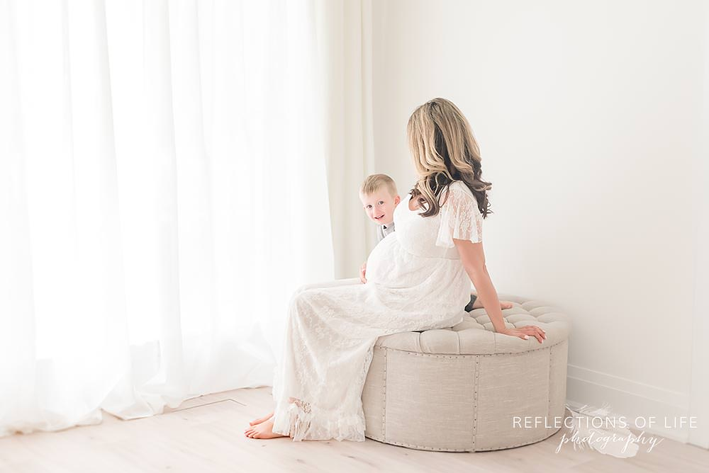 Michelle Freel, Grimsby Maternity Photography Client