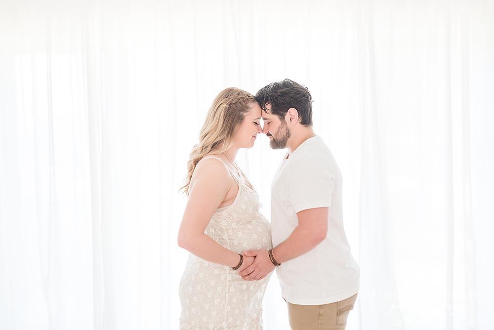 Vineland Ontario pregnancy photos in Grimsby natural light studio
