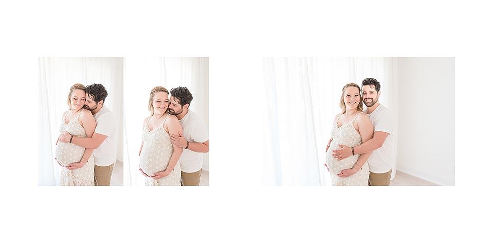 Couples pregnancy photos Niagara Ontario