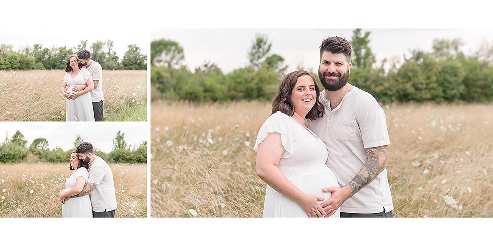 Pregnancy photography in the field in Niagara Ontario.jpg