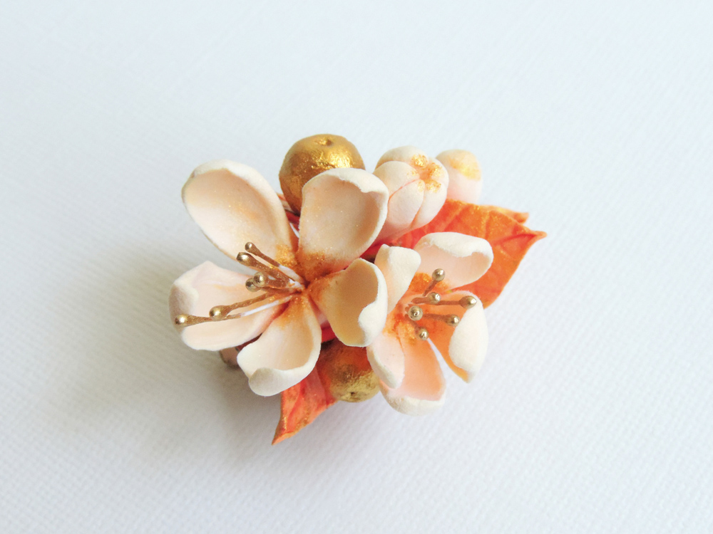 hairflower_peach quince 01a_Leigh Ann Gagnon.jpg