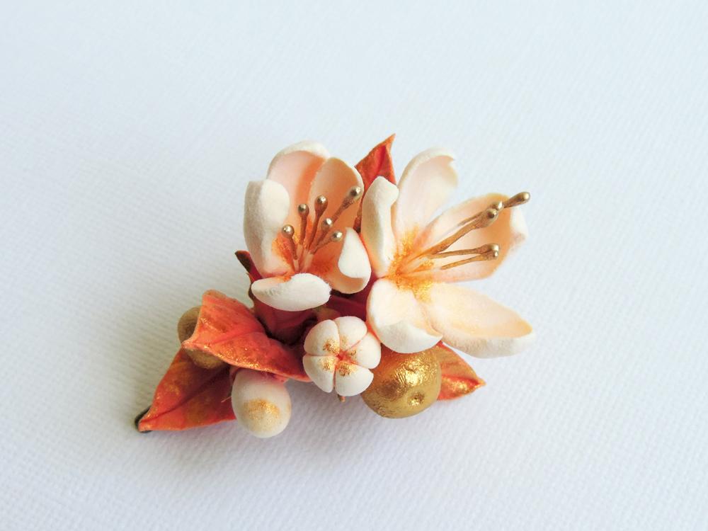 hairflower_peach quince 01b_Leigh Ann Gagnon.jpg