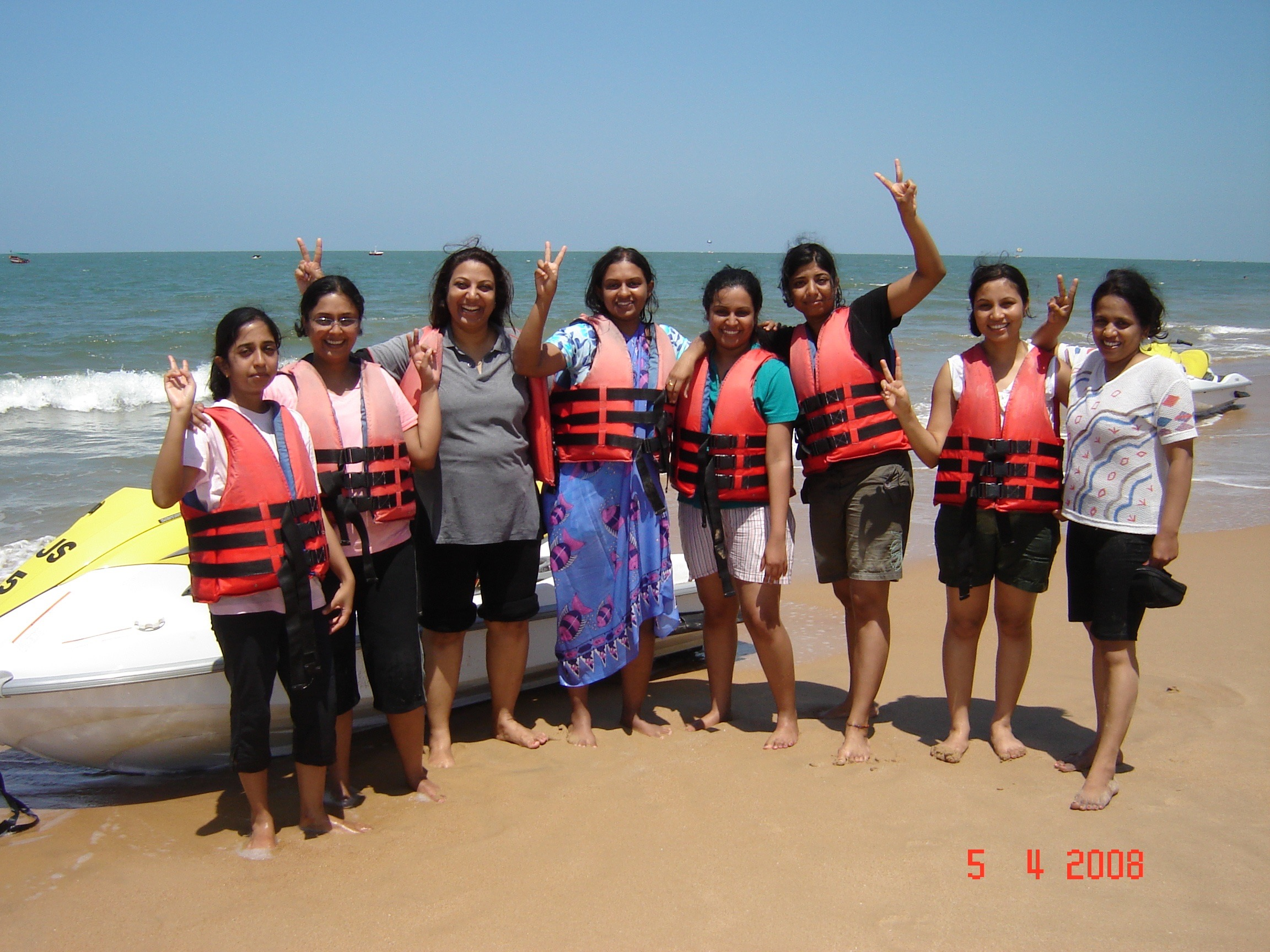 Annual retreat: Goa 2008