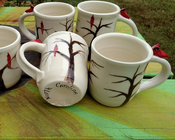 Sarah Monteleone    Farm Springs Pottery