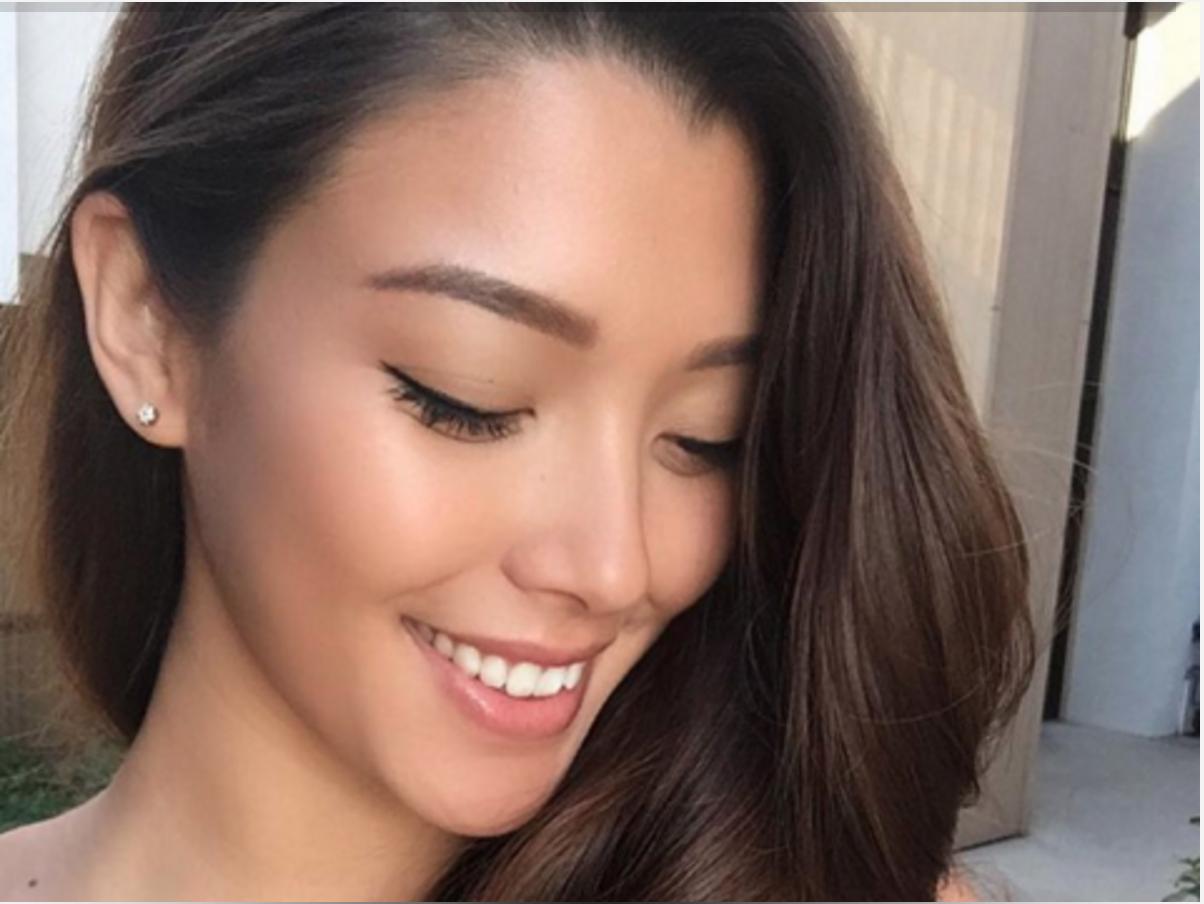 Asian bride wedding hawaii maui makeup