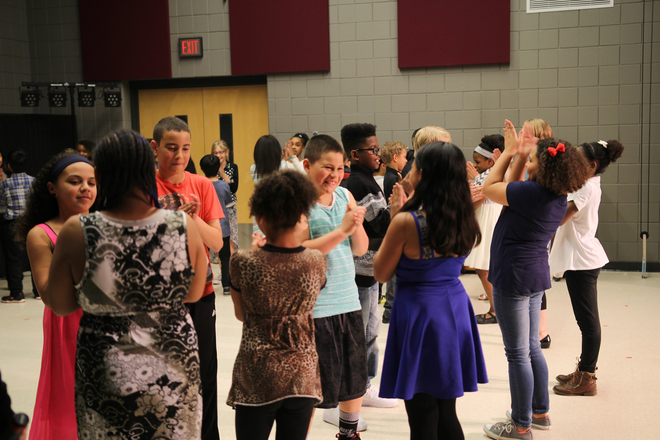 "Watching the transformation of the sixth graders is what cemented [Harambee Elementary] Principal Griebel's decision to participate in a second year of Dancing Classrooms. ""I want to give that experience to another group of kids,"" she says."