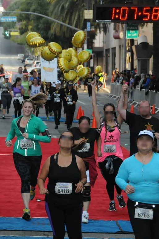 Training for my halves in May Hollywood 10k, April 2015