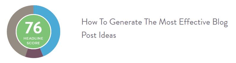 find the best blog post headline.