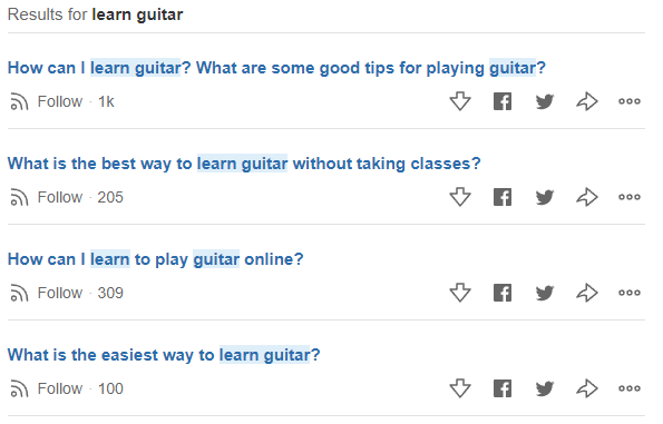 Quora Questions and Answers