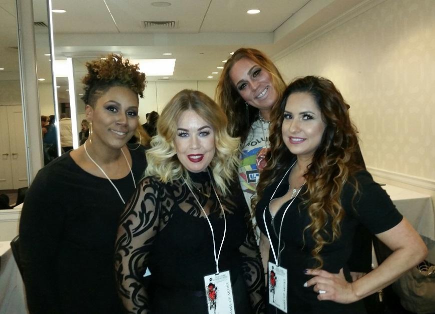 Pictured:Amari Briggs,Lena Ross,Kakki Jones and Crystal Brown of #TeamKorto