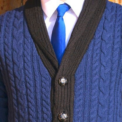 Switch out your blazer for a cardigan on those chilly autumn days