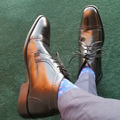 Ankle dress boots work well with business or formal attire