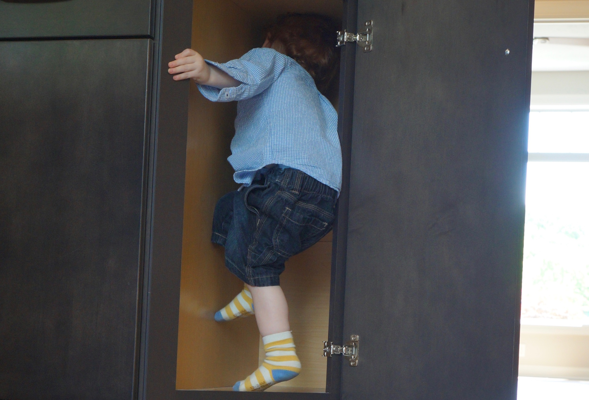 Put your kids to work inspecting all the nooks in your soon-to-be home.