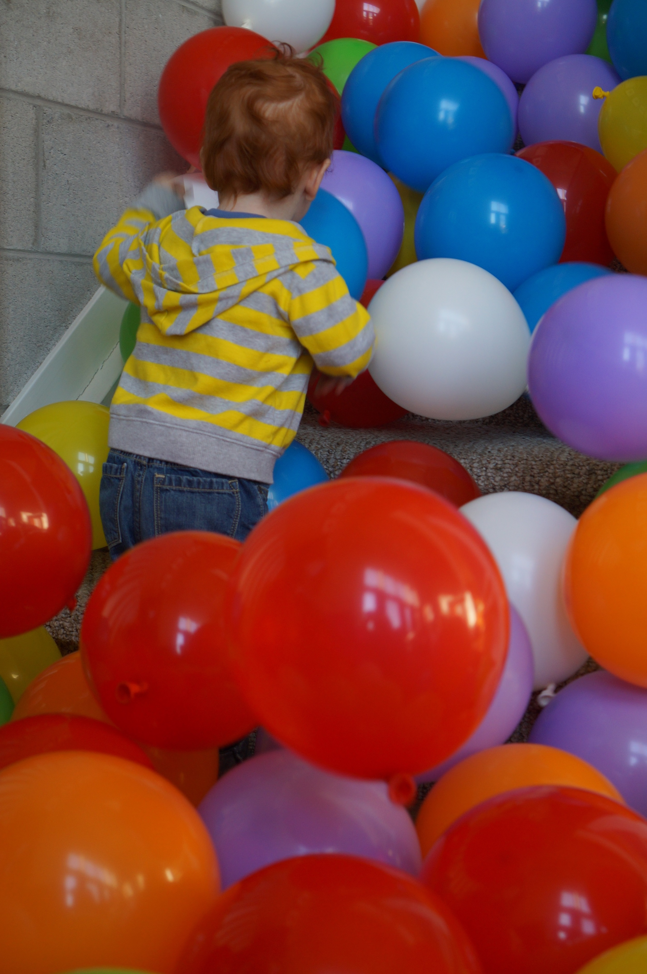 Play. Getting low helps you see the world from kiddo's perspective.