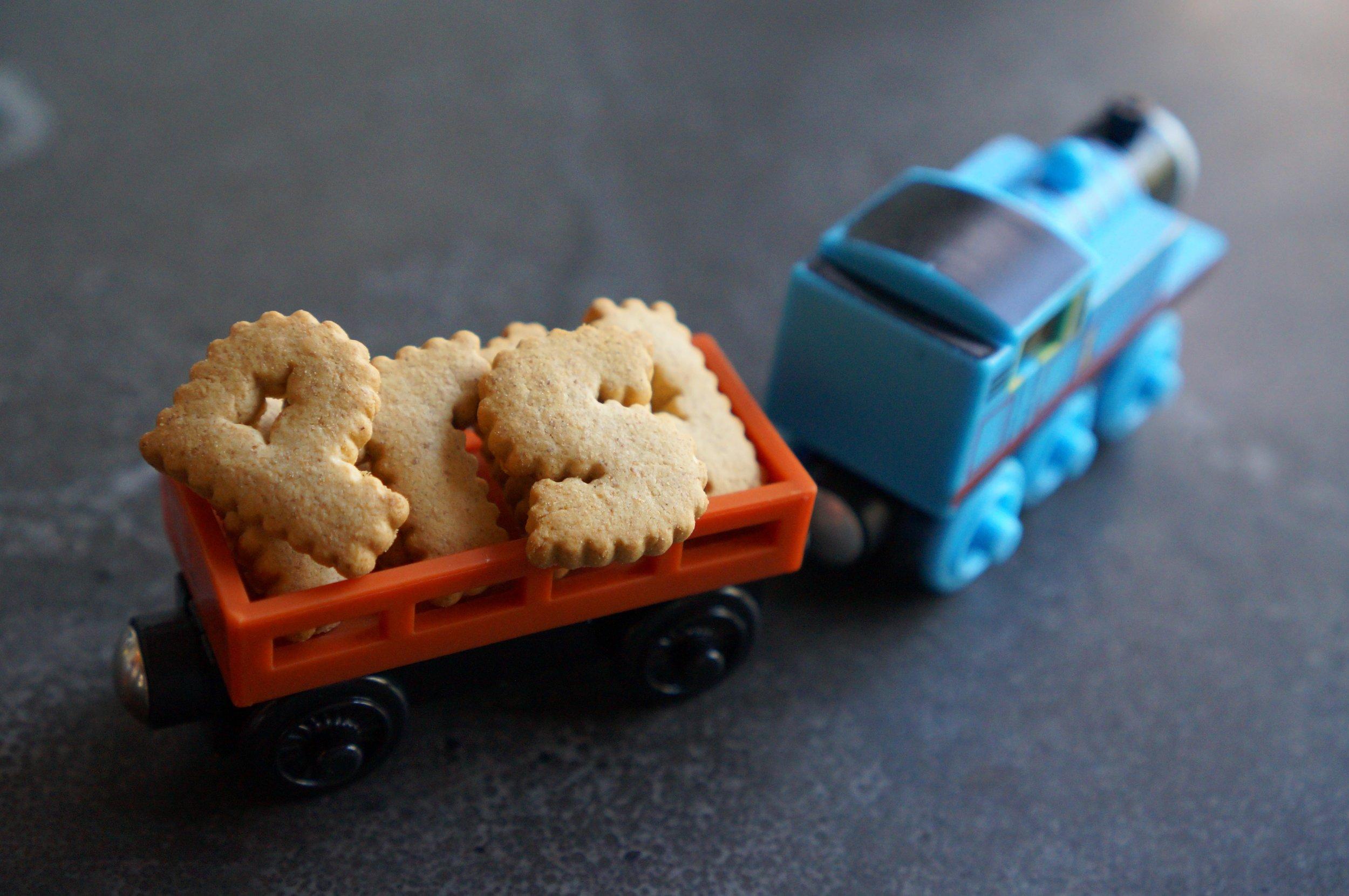 Cargo cars help kids develop new narratives.