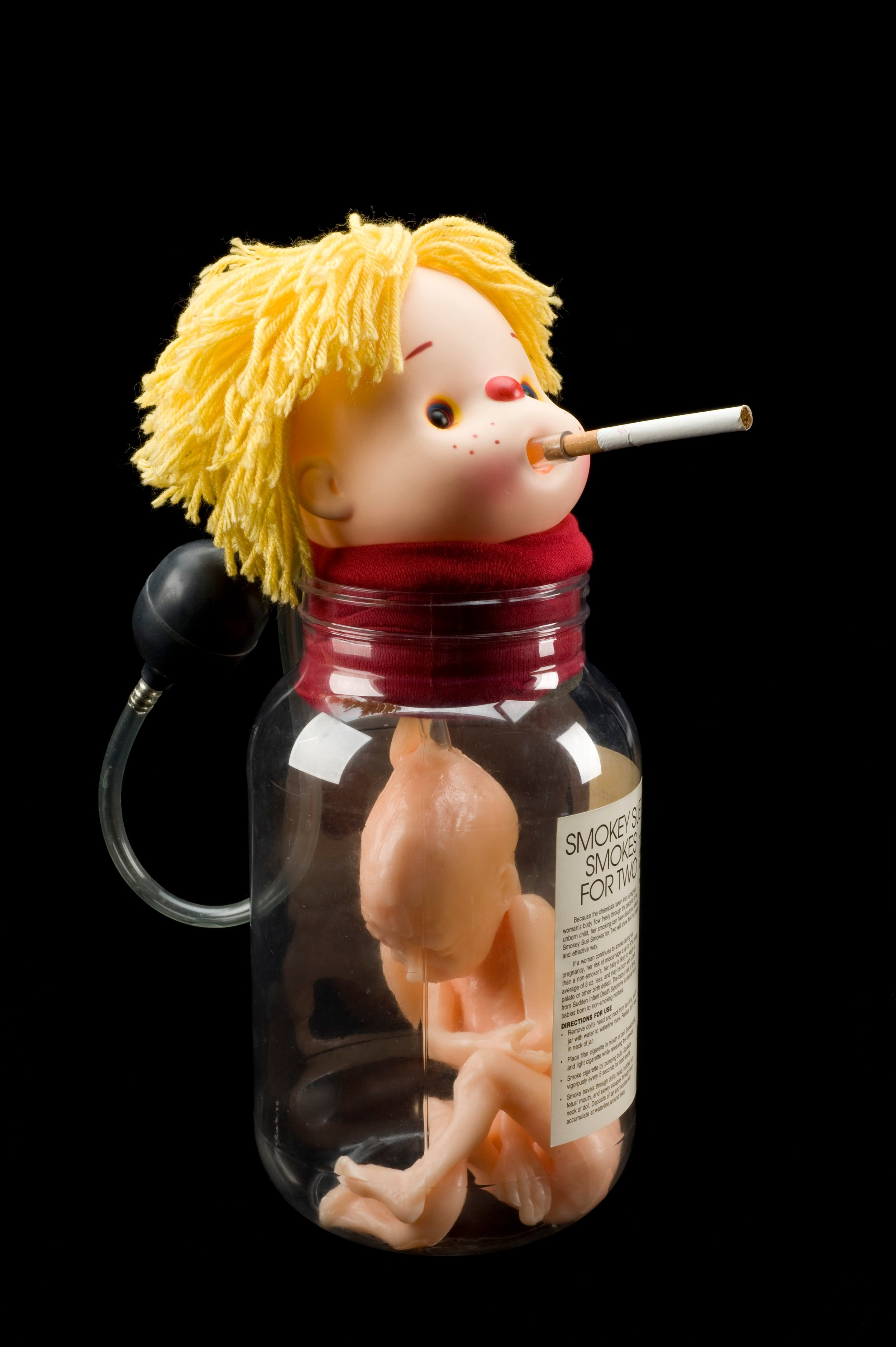 """""""Smokey Sue Smokes for Two"""" is just gem from the Wellcome Collection's Treasure trove of historical medical images. 