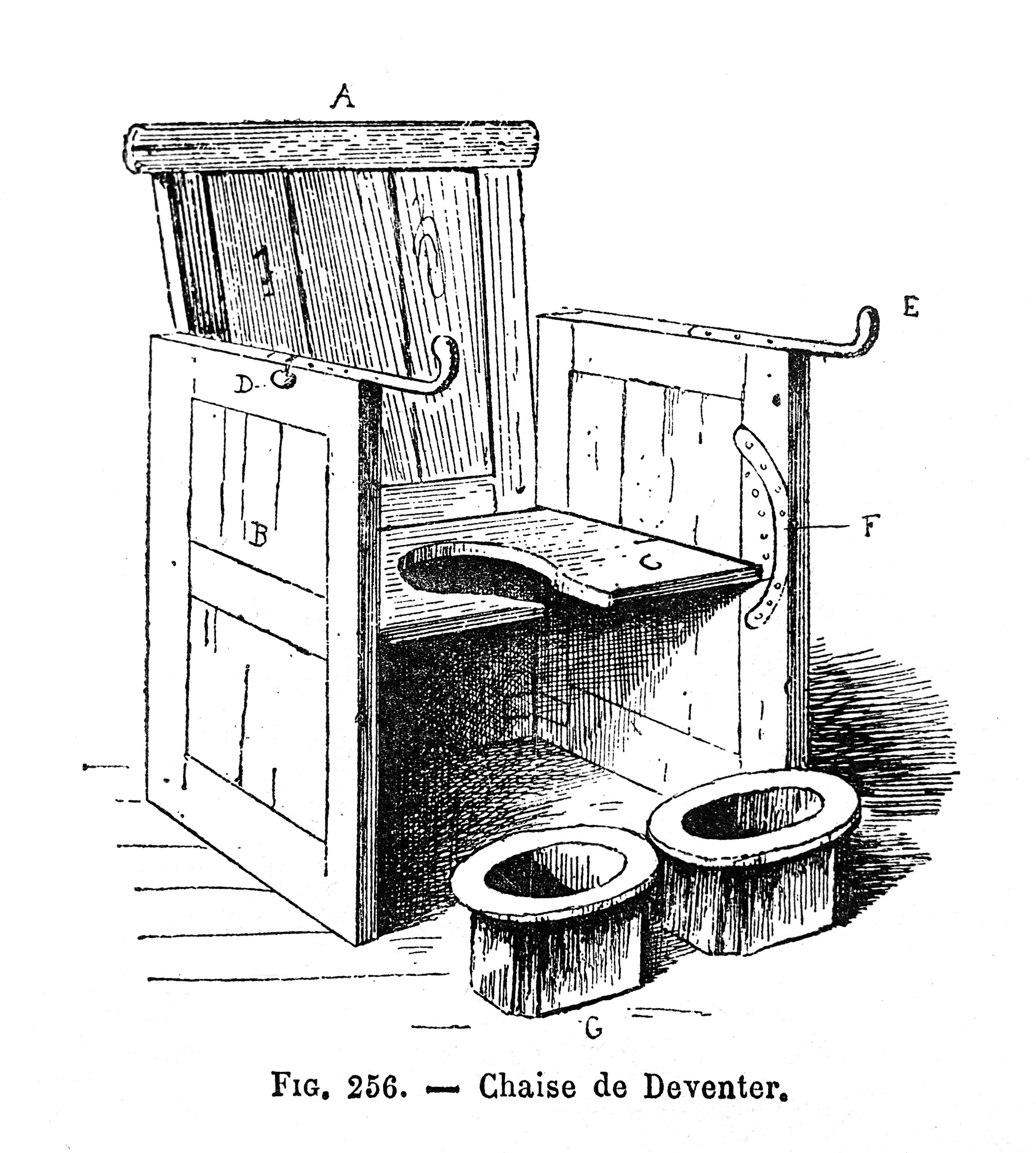 The Parturition Chair: Diabolical Torture Device or ruthlessly efficient? |  Wellcome Collection