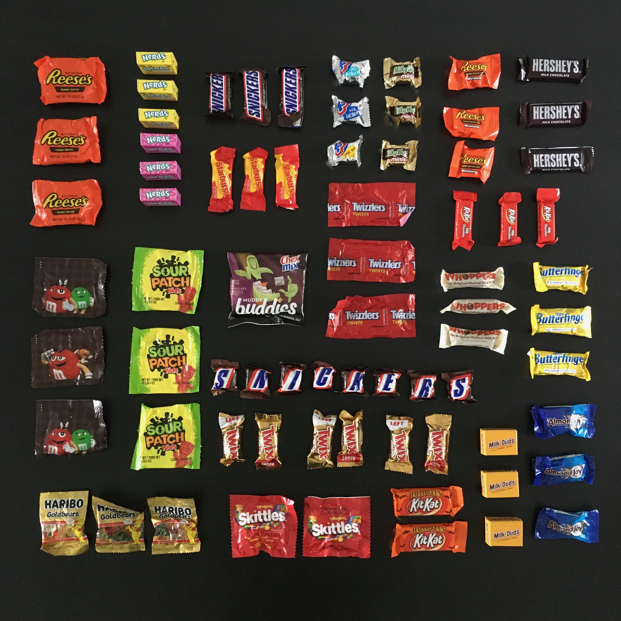 Snackinner's 2019 Stale Halloween Candy Taste Test   S&D for  snackdinner