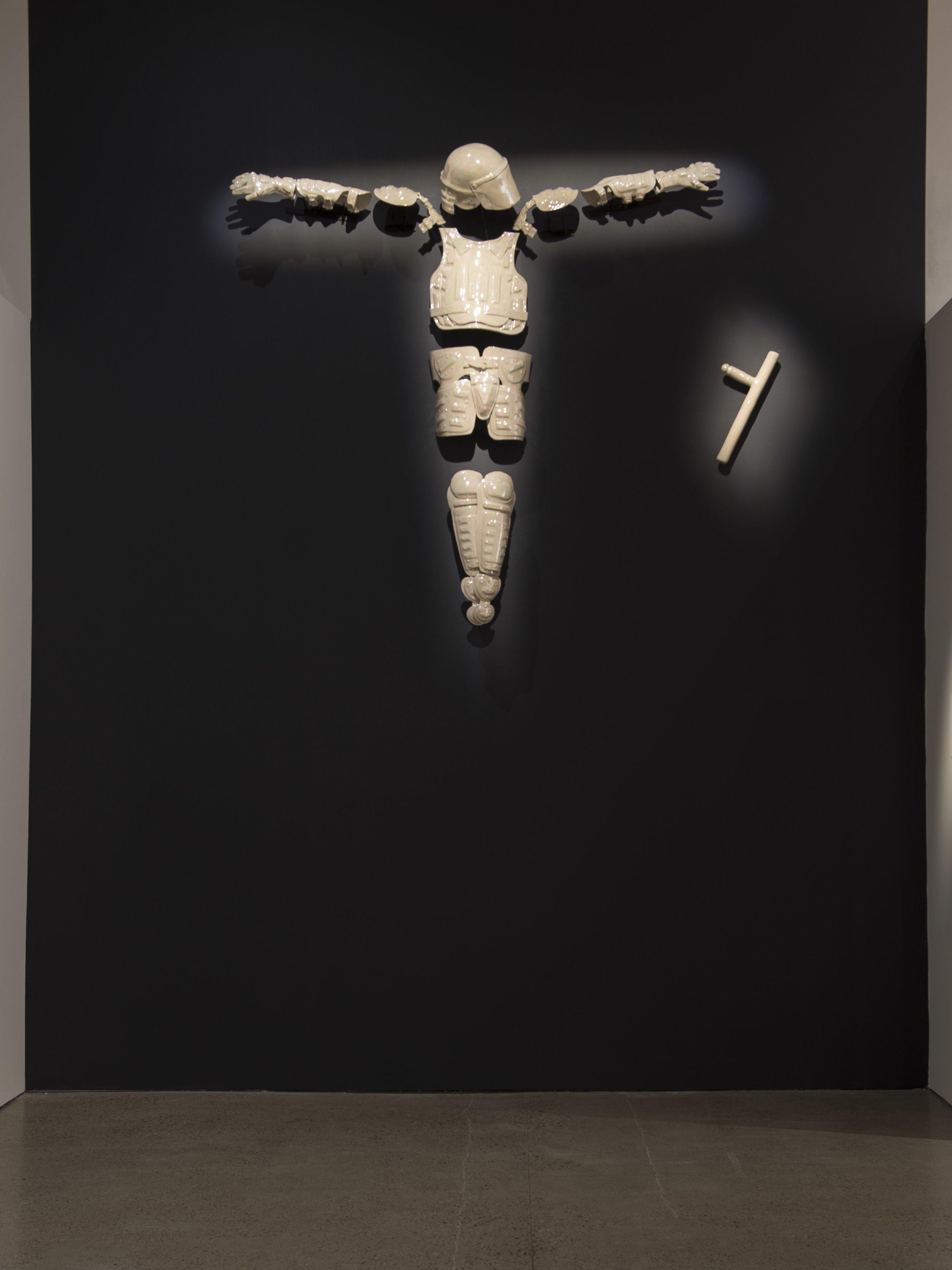 God Complex,  glazed porcelain, 2015.
