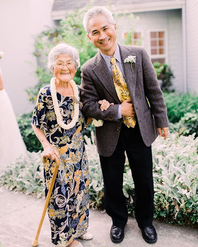 The cutest mom and son duo and her granddaughter's wedding. I love documenting the family members and people who mean so much to the bride and groom. Yes the details are important but photos like these are even more important ❤️ Lillian and Josh has a really cool receiving line after the ceremony heading into the reception and I loved how it gave so much opportunity for great portraits with ones they loved.