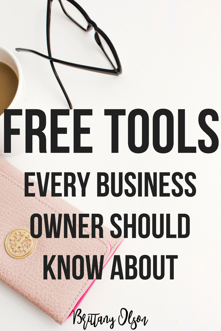 Download the list of free business tools for new business owners.