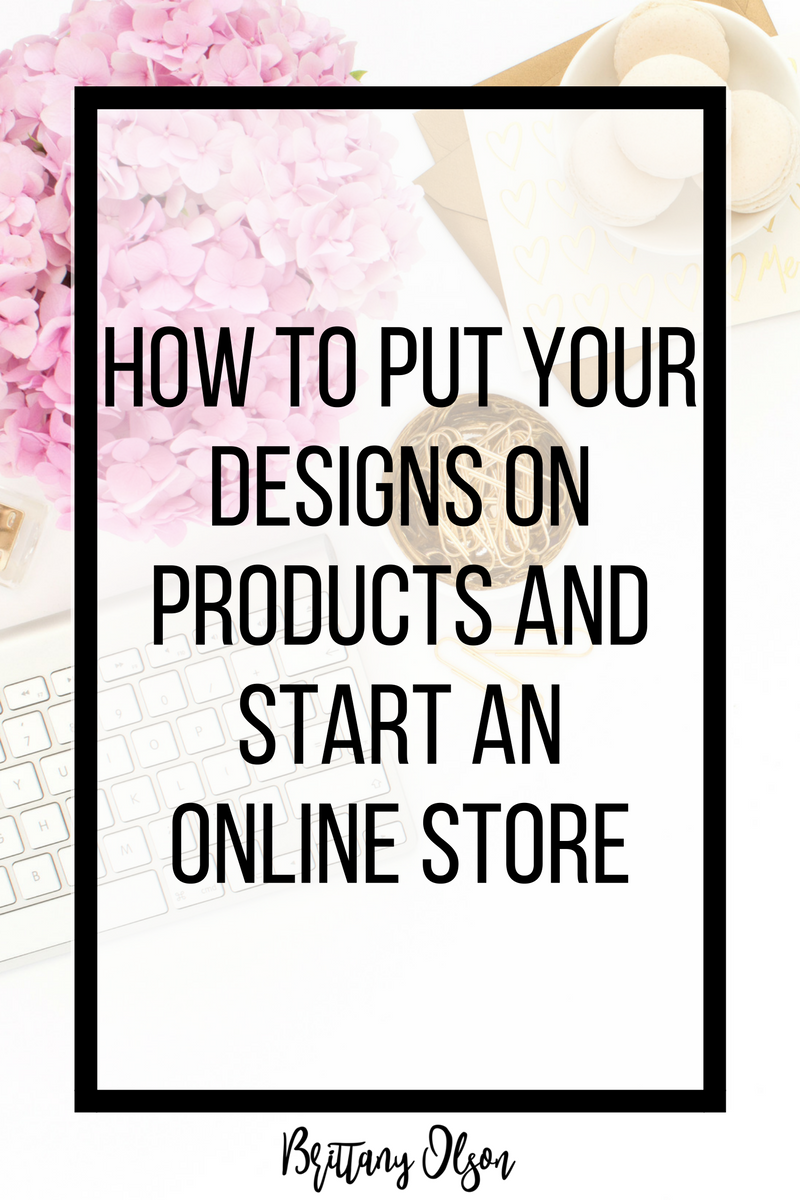 How to start a dropshipping business by putting your designs on products and creating your own product brand and launch your own clothing line of products