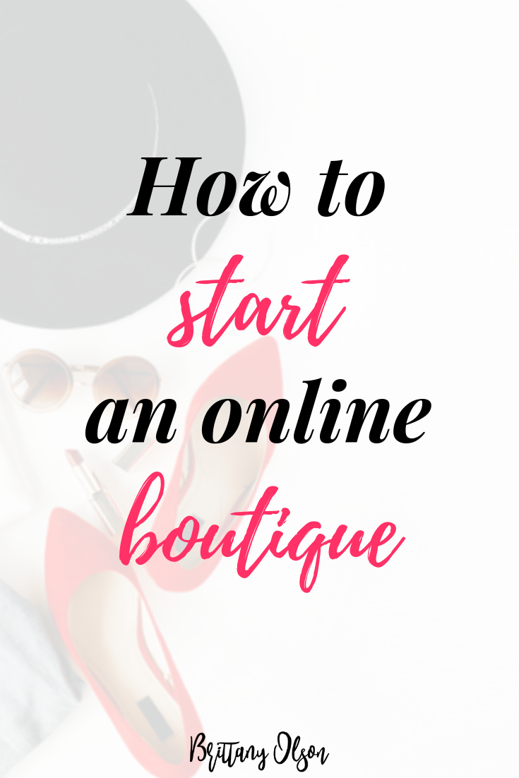 How to start a boutique - step by step