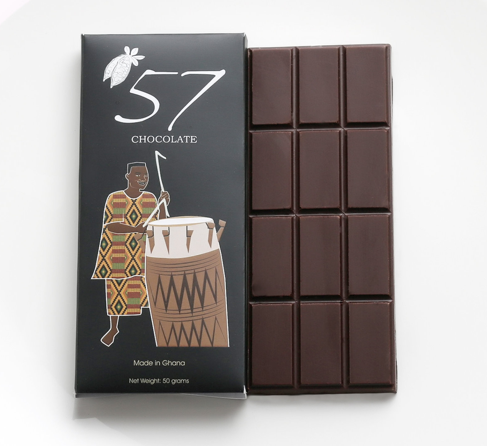 73 percent dark chocolate (50 grams)
