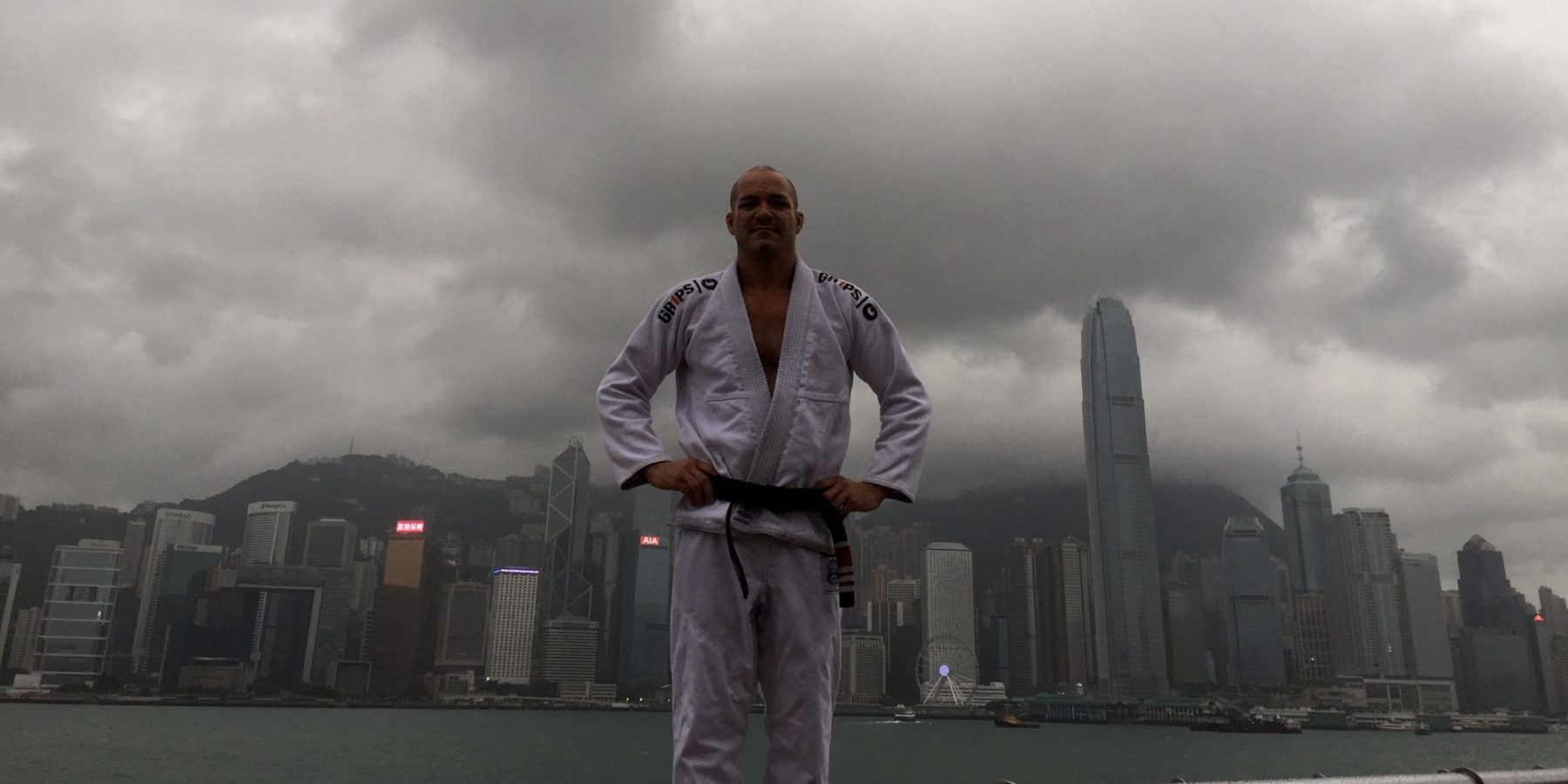 Mike Powers in HK